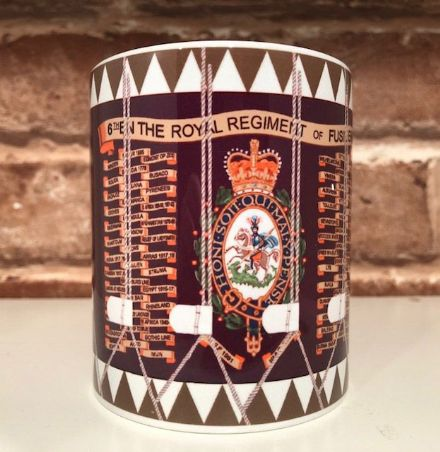 6th Bn The Royal Regiment of Fusiliers Drum Mug